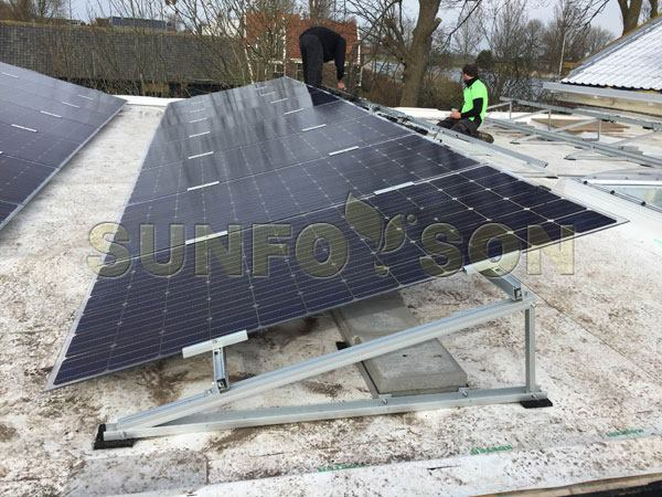 solar module racking systems