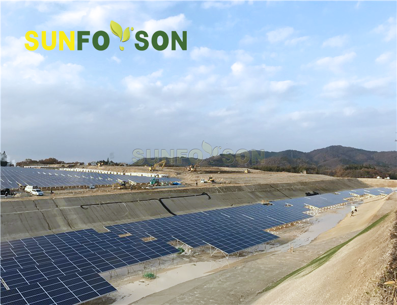 ground pv solar mounting bracket from Sunforson